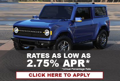 Car loan rates as low as 2.75% Annual Percentage Rate